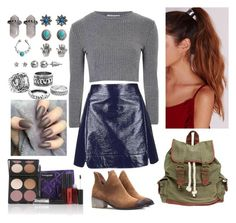 """""""School Girlz"""" by amazing-world-of-teen-wolf ❤ liked on Polyvore featuring Glamorous, Topshop, Wet Seal, Missguided, Gorgeous Cosmetics and Mudd"""