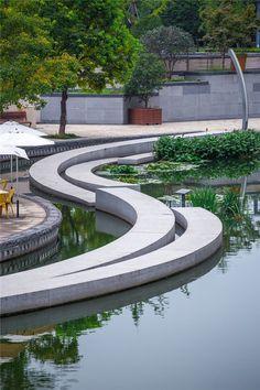 Zhangjiagang Città Fiume Ricostruzione / Botao Landscape