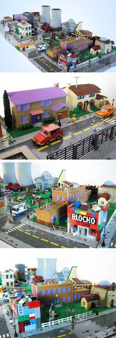 Springfield just came to life. Lego life, that is.