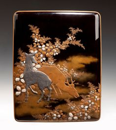 Japanese Lacquered Box (2)