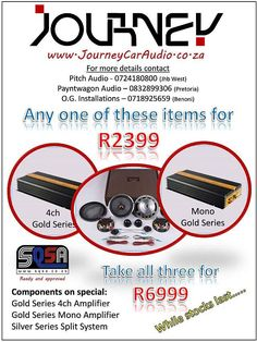 Journey Car Audio Special