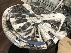 Calrissian's Damaged Millennium Falcon (Modified Deagostini Millennium Falcon) by HACKCORE