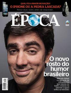 Edição 768 de ÉPOCA - O novo rosto do humor (Foto: Tomás Rangel/ÉPOCA)