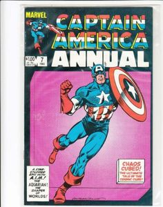 Captain America Annual 7 Bronze Age High Grade Marvel Comics 1983 Classic | eBay