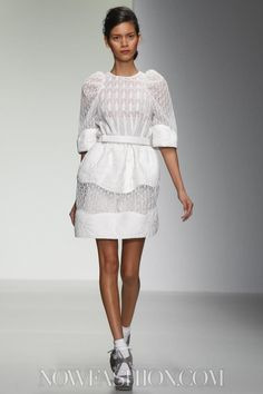 Bora Aksu Ready To Wear Spring Summer 2014 London