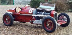 1932 Alfa Romeo P3 Grand Prix race car