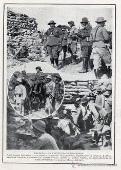 MARRUECOS 1921 TERCIO DE VOLUNTARIOS HOJA REVISTA