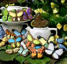 Butterfly Cookies for Wedding, Party or Baby Shower Favors