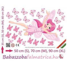 Tündér falmatrica #babaszoba #tündér #falmatrica #gyerek #gyerekszoba #faldekoráció #pink #kislány Pink, Movie Posters, Art, Art Background, Film Poster, Kunst, Performing Arts, Pink Hair, Roses