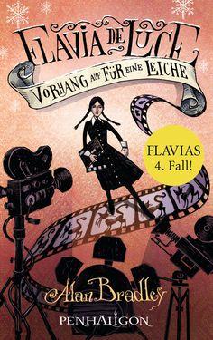 Mein Bücherregal und ich: [Rezension] Alan Bradley - Flavia de Luce: Vorhang...