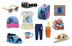 """Finding Nemo"" by carlavecchio123 on Polyvore featuring American Tourister, Disney and George"