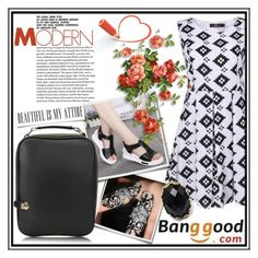 """Banggood"" by tanja133 ❤ liked on Polyvore featuring BangGood and fashionset"