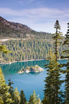 Emerald Bay Vertical in Lake Tahoe by Black Bart Lake Tahoe Vacation Rental, via Flickr