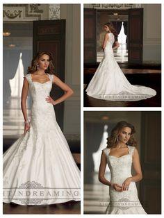 Cap Sleeves A-line Sweetheart Beaded Wedding Dresses  #wedding #dresses #dress #lightindream #lightindreaming #wed #clothing   #gown #weddingdresses #dressesonline #dressonline #bride  http://www.ckdress.com/cap-sleeves-aline-sweetheart-beaded-wedding-  dresses-p-31.html