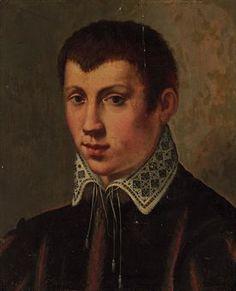 Florentine school, late 16th century Portrait of a youth, traditionally identified as Francesco I de'Medici