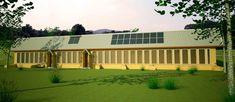 zero energy 4 sm...earth bag house de  sign...what you see in the picture is a greenhouse which runs along one long side of house and helps heat the house in the cold season...