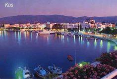 Kos Town Kos Greece at Night