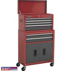 Sealey Tool Chest Top Box And Rollcab Storage Unit Rolling Tool Cabinet Tool Storage, Garage Storage, Outside Gazebo, Man Cave Gifts, Canopy Cover, Home Tools, Replacement Canopy, Small Drawers, Garage