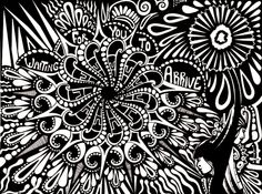 Rotring Rapidograph pens with black ink on white cartridge paper. Thank you for commenting, adding to your favourites or adding me to your watch list - I really do appreciate you. Colouring Pages, Adult Coloring Pages, Coloring Books, I Love Being Alone, Pen Down, Cool Doodles, Patiently Waiting, Tattoo Stencils, Mechanical Pencils