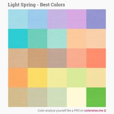 Color-analyze yourself like a PRO