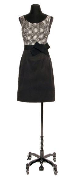 1.2.3 Paris - Robe Carmin 159€ #bimatiere #jacquard #bicolore #robe #mode #printemps #123