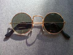 OCCHIALI DA SOLE con lenti tonde Stile Style Nr.5a 60s 70s Retro Vintage