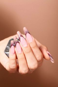 The cover #nail photo of the Italian Crystal Nails fall/winter catalog