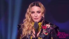 Madonna confronts sexism and ageism in powerful Billboard Women in Music speech.