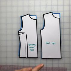 Here's a great guide to follow for how to follow the basic pattern rules for tops. Cross check your sewing patterns to be sure you follow these rules. Find a guide for how to use your pattern rulers here.