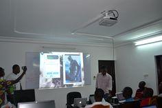 Photo prise au GDG Barcamp Lomé 2013