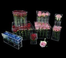 Acrylic box for flowers - Custom made service by direct China factory Acrylic Box, China, Flowers, Florals, Flower, Bloemen