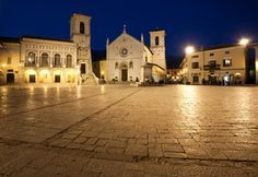 Piazza San Benedetto - Norcia - Umbria (Italy)