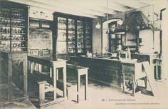 Archive postcard views of St. Joseph School in Kadıköy