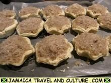 Gizzada - Baking the gizzadas  Jamaican Culture- 4-H international foods day