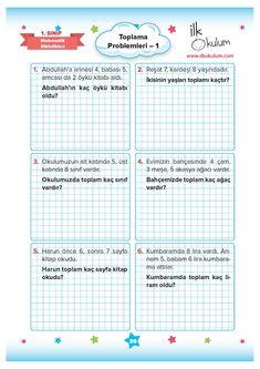 Tv Cabinet Wall Design, Class Activities, Preschool Math, Mathematics, Humor, Reading, Blog, Turkish Language, Math