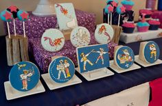 Mermaids and Pirates Guest Dessert Feature | Amy Atlas Events