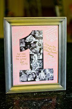 Geburtstag-Collage auf Fotos hinzufügen
