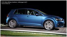 Nachtaufnahme: VW Golf 7