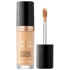 Shop Too Faced's Born This Way Super Coverage Multi-Use Sculpting Concealer at Sephora. A hydrating, full-coverage, weightless, four-in-one concealer.