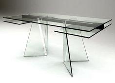 modello lv1 #tavolo #trasparente #acrylic #diningtable #plexiglass ... - Arredamento Design Per Tutti