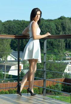 My little white dress // Мое маленькое белое платье #fashionblog #milapopovichblog #myoutfit #style