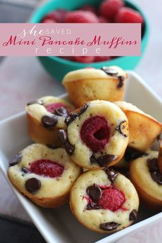 Easy and so yummy, this Pancake Muffins Recipe will be a hit for breakfast, and perfect for Valentine's Day!