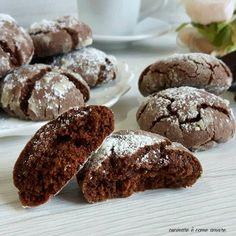 Cookie Desserts, Vegan Desserts, Cookie Recipes, Biscotti Cookies, Cake Cookies, Nutella, Biscuit Recipe, Sweet Cakes, Vegan Baking