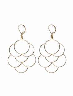 Interlocking Circles Earrings 50% off today 8/29 $8.45 #limited