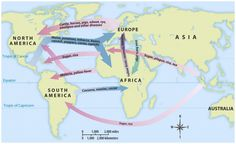 The Columbian Exchange is the reason that the Americas are as prosperous as they are today. Although many Native Americans died of slaughter and disease, the Columbian exchange served as the path to civilization in the Americas.