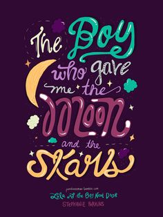 "Quote from ""Lola and the Boy Next Door"" by Stephanie Perkins  