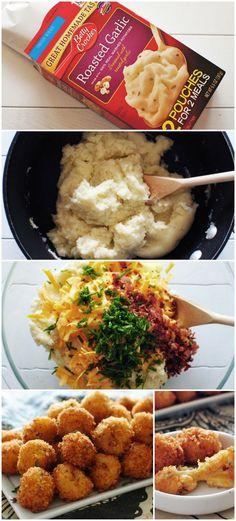 Loaded Cheesy Mashed Potato.