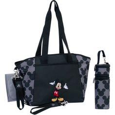 【楽天市場】ママさんバッグ USA直輸入 送料無料 ディズニー Disney ミッキーマウス 5-in-1 マザーズバッグ セット Disney Mickey Mouse 5-in-1 Diaper Tote Set:アイディーリ輸入雑貨専門店