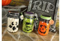 Halloween Mason Jar Decals