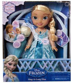 Letting it Go With the JAKKS Sing-a-Long Elsa Doll @jakkstoys #jakkstoys #singalongelsa (& Giveaway Ends 11/27) Read more at http://momandmore.com/2015/11/jakks-sing-a-long-elsa-doll.html#UPqok6248khtclHB.99